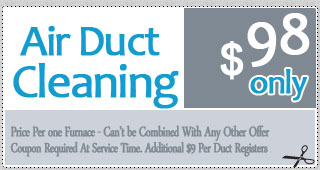 Air Duct Cleaning Offer