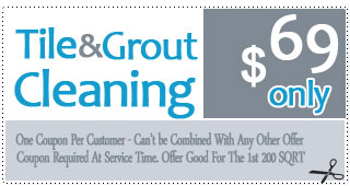 Tile and Grout Cleaning Offer